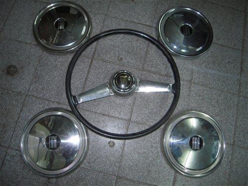 Part Steering Wheel Rates Fiat 800 1500 Coupé