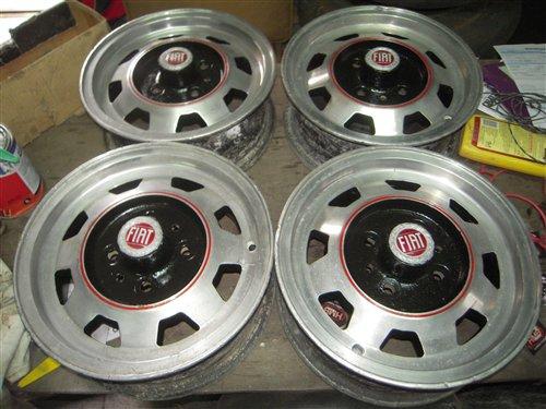 Part Rims: Rolled 12 Fiat 600