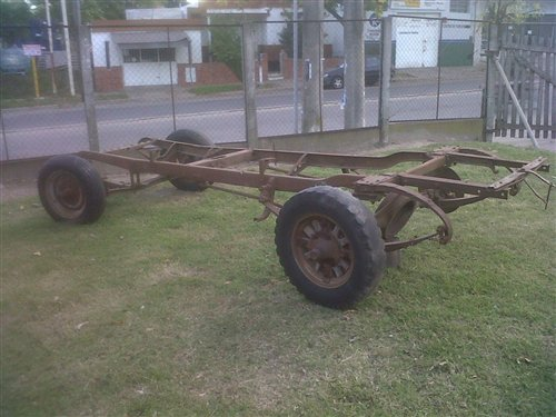 Part Studebaker Chassis