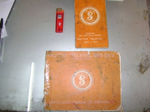Repuesto Manual Catálogo Motor Televel Sachs