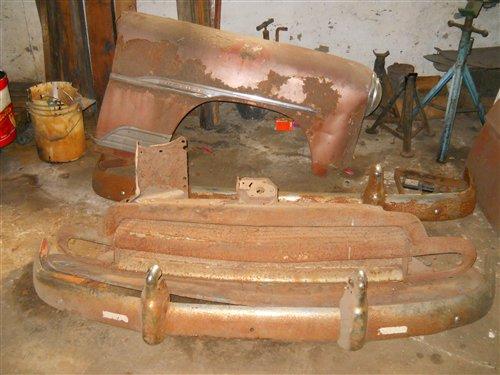 Part Rack Bumper Chevrolet