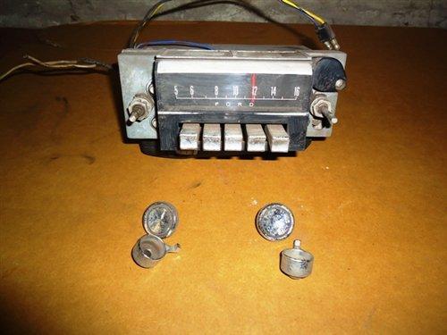 Repuesto Radio Mustang 1964 -69
