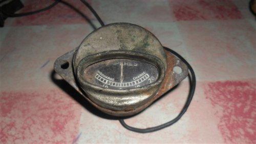 Repuesto Reloj Medición Carga Batería 6volt 1932