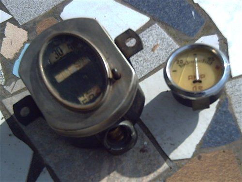 Part Speedometer Ford A Ammeter