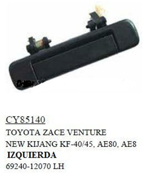 Part Outside Door Handle Toyota
