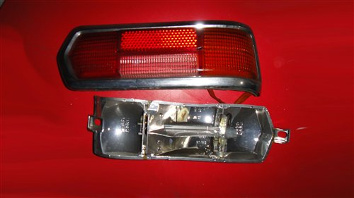 Repuesto Faro Trasero Mercedes Benz W108 Ponton