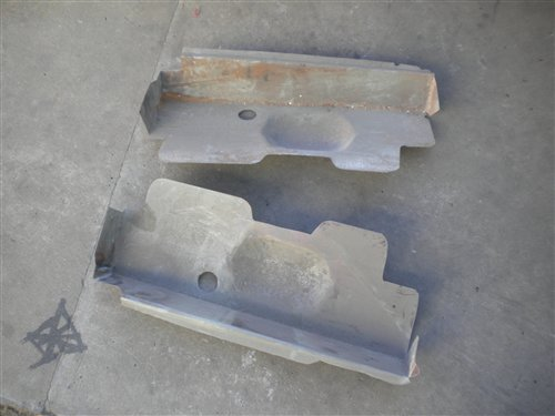 Part Cubremotor Ford A