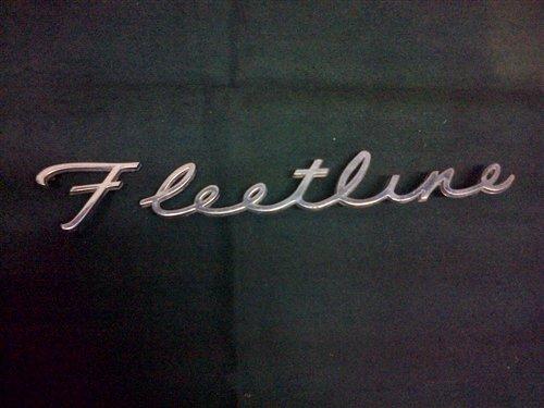 Repuesto Insignia Fleetline