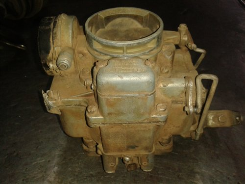 Part Carburetor Carter Wcd 2807-s