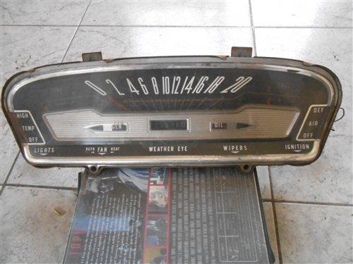 Repuesto Tablero Ford Galaxie 1962