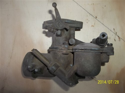 Part Carburetor Ford A