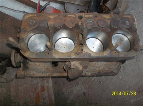 Part A ford Engine Block