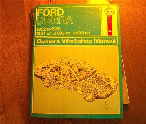 Repuesto Manual Taller Ford Sierra