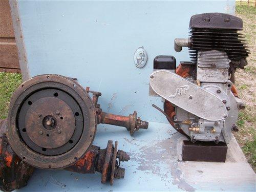 Repuesto Motor Jap Transmisión Mini Tractor