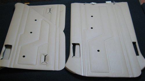Part Upholstered Panels Door Renault 12 Beige