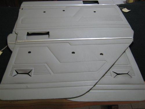 Repuesto Paneles Tapizados Puerta Grises Molduras Renault 12