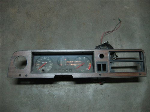 Part Board With Instruments Ford Taunus