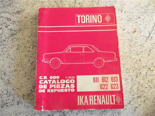 Part Catalogue Spare Parts Torino