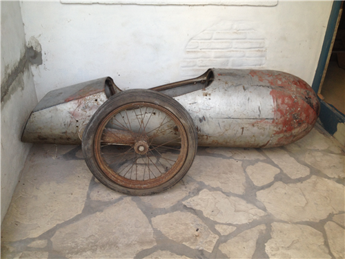 Repuesto Sidecar Mallmann 1951