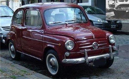 Part Play Bumper Fiat 600 1962