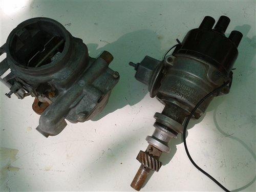 Part Carburetor Distributor Ford Taunus