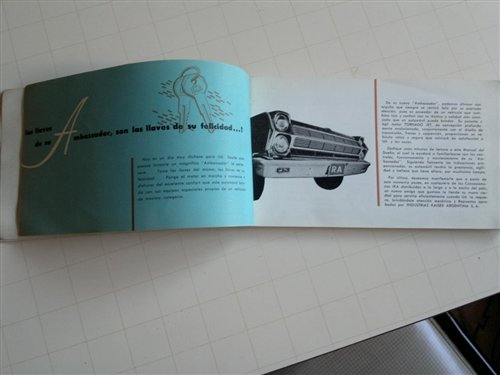 Repuesto Manual Ambassador 990