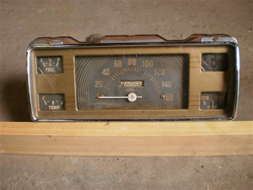 Part 1940 Ford Instrument Panel