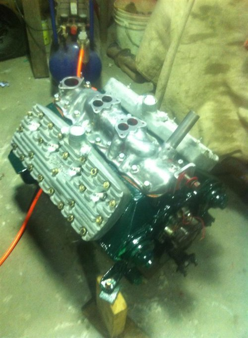 Repuesto Motor Ford Flathead 59 AB