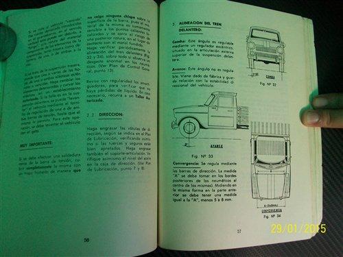 Repuesto Manual Rastrojero Diesel 1973