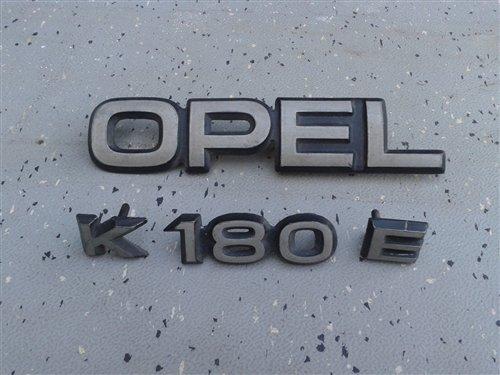 Repuesto Insignia Opel K 180 E
