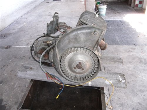 Part Isard 300 Engine