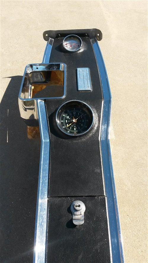 Part 1966-67 Ss Chevelle Console