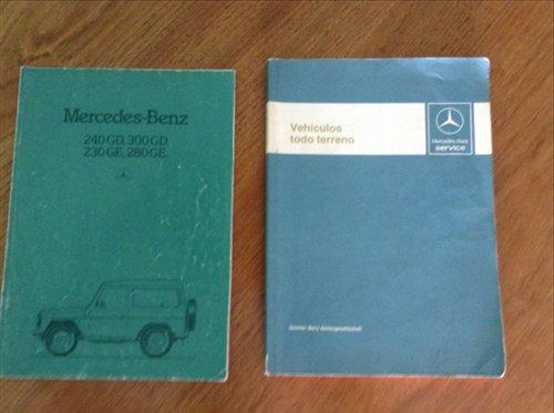 Repuesto Manual Mantenimiento Mercedes Benz G