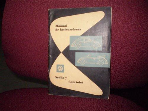 Repuesto Manual VW Escarabajo 1959
