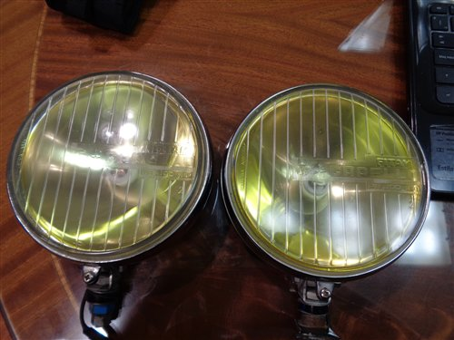 Part Auxiliary Headlamps Carello