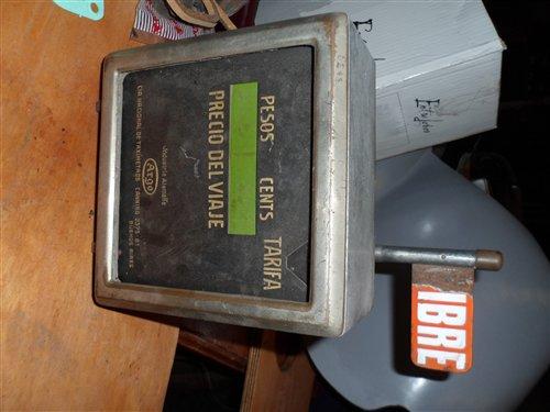 Repuesto Antiguo Reloj Taxi