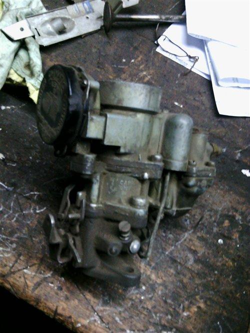 Part Carburetor Carter Wa-1