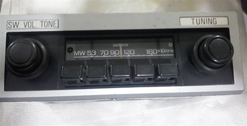 Part Datsun Radio