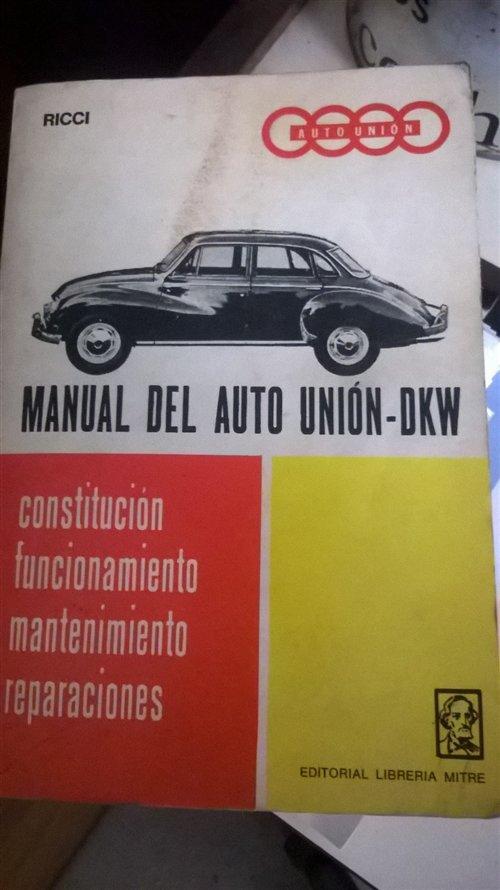 Part Manual Reparacion Auto Union - Dkw