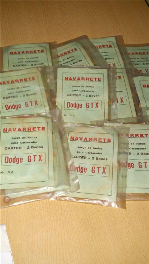 Repuesto Juntas Carburador Dodge GTX