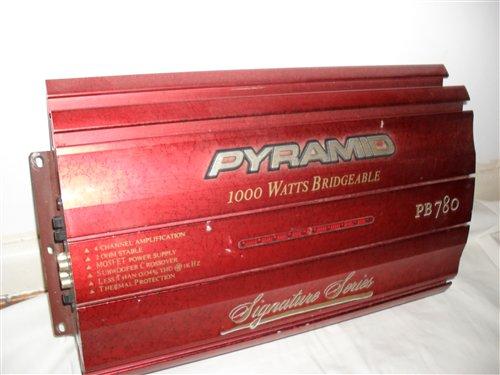 Part Car Amplifier 1,000 Vatts