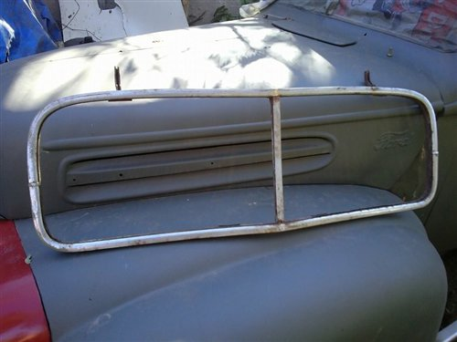 Part 1937 Ford Windshield Frame