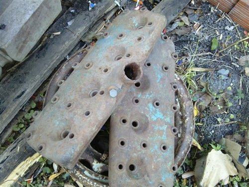 Part Covers Cylinder Ford V8 Flathead 21 Bolts