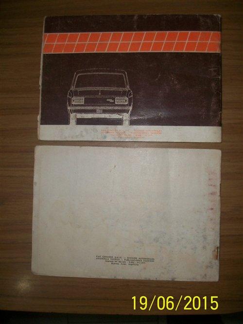 Repuesto Manuales Fiat 125 Muticarga