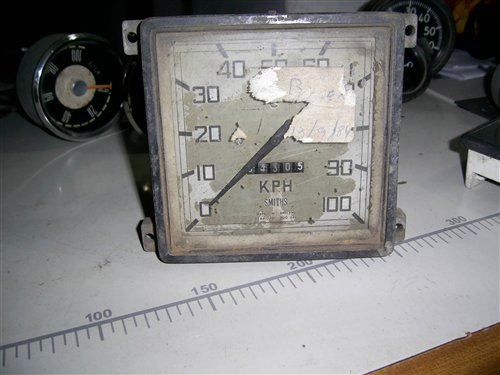 Part Speedometer Smith