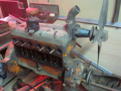 Part Engine Ford A