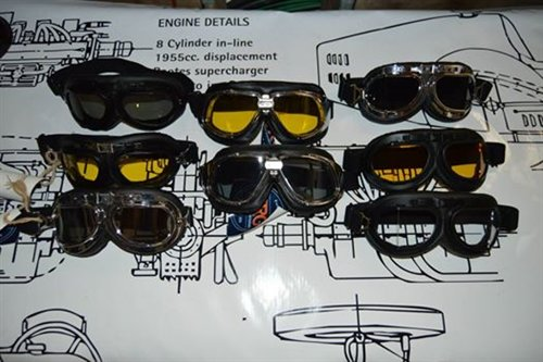 Part Goggles Aviator Type