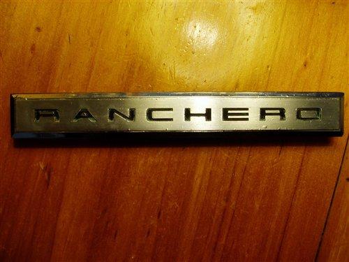 Repuesto Insignia Ford Ranchero