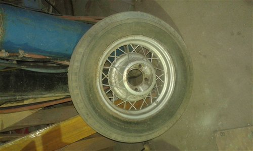 Part Wheels Ford 1934
