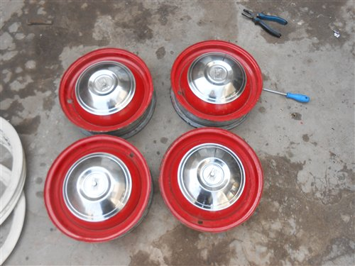 Part Game Wheels Bandines Rates Fiat 600 Road 12